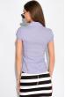 Классическая рубашка 118P001 с коротким рукавом лиловый