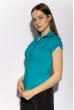 Классическая рубашка 118P001 с коротким рукавом изумрудный