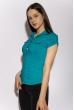 Классическая рубашка 118P001 с коротким рукавом светло-бирюзовый