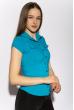 Классическая рубашка 118P001 с коротким рукавом светло-синий