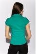 Классическая рубашка 118P001 с коротким рукавом зеленый