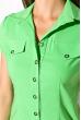 Классическая рубашка 118P001 с коротким рукавом салатовый