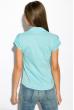 Классическая рубашка 118P001 с коротким рукавом светло-голубой