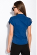 Классическая рубашка 118P001 с коротким рукавом синий