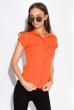 Классическая рубашка 118P001 с коротким рукавом оранжевый