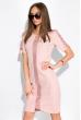 Платье с коротким рукавом 151P2947 розовый