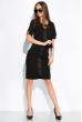 Платье с коротким рукавом 151P2947 черный