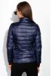 Куртка женская, двусторонняя 85P17766 сине-бирюзовый