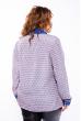 Блуза женская 118P129 лилово-синий