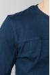 Свитер мужской 713K014 синий