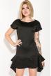Платье женское трапеция 74PD139 черный