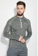 Кофта мужская спортивная, для бега 306V001-4 грифельный меланж