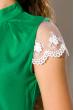 Блуза женская 121P001 зеленый