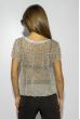 Блузка женская с коротким рукавом 118P324 цветочный принт