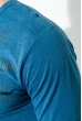 Батник мужской, стильный 81PD7267 синий