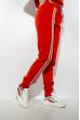 Спортивный костюм на флисе 118P3 красный
