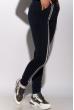Спортивный костюм на флисе 118P3 темно-синий / черный