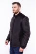 Куртка стеганая со вставками  187P477 черный