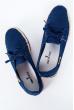 Кеды женские №164F002 темно-синий