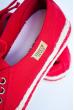 Кеды женские №164F002 красный