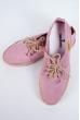 Кеды женские №164F002 розовый