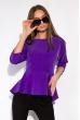 Блуза однотонная 148P32 фиолетовый