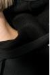 Платье-батник женской с капюшоном, на флисе 69PD1044 персиковый