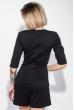 Ромпер женский однотонный, короткий рукав 64PD193 черный