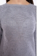 Свитер реглан женский 610F002 серый