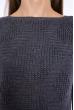 Свитер реглан женский 610F002 темно-серый