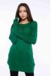 Свитер реглан женский 610F002 зеленый