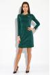 Платье женское в стиле Casual  5500 зеленый меланж