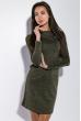Платье женское в стиле Casual  5500 хаки меланж