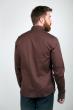Рубашка 3255 коричневый