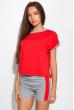 Костюм двухцветный (шорты, футболка) 120PKLDL1771 красный