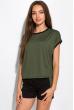 Костюм двухцветный (шорты, футболка) 120PKLDL1771 хаки