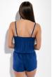 Комбинезон женский на бретельках 81P10641 синий