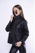 Куртка кожзам  172P8868 черный