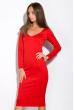 Платье 110P500-1 красный