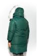 Куртка женская 120PAM1938 темно-зеленый