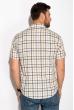 Рубашка с коротким рукавом 511F020 серо-бежевый
