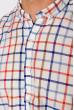 Рубашка с коротким рукавом 511F020 красно-синий
