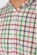 Рубашка с коротким рукавом 511F020 сиренево-зеленый