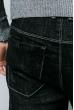 Джинсы мужские базовые, темные 867K008 черный