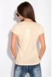 Футболка женская с надписью на груди 148P333-4 светло-желтый
