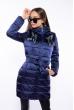 Куртка женская с пайетками 120PSKL6721 синий