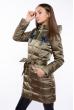 Куртка женская с пайетками 120PSKL6721 хаки