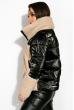 Куртка женская 120PSKL6268 черно-молочный