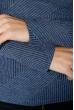 Гольф женский однотонный, нежные оттенки 68PD104 джинс
