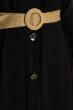 Платье в пол  640F001 черный